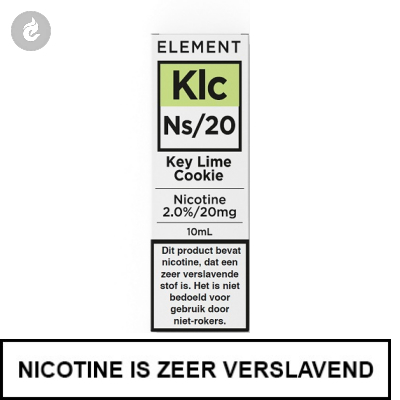 Element Nic Salts Key Lime Cookie Ns/20mg Nicotine 10ml