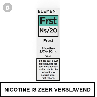 Element Nic Salts Frost Ns/20mg Nicotine 10ml