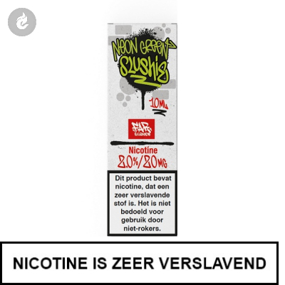 Element Nic Salts Neon Green Slushie Ns/20mg Nicotine 10ml