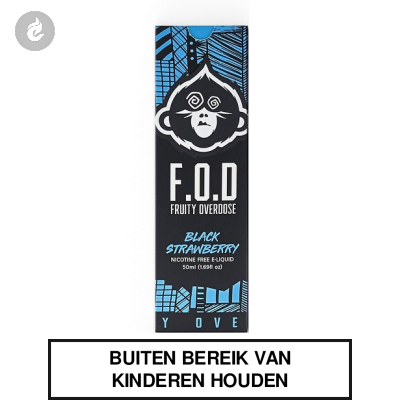 F.O.D. Shake & Vape - Black Strawberry