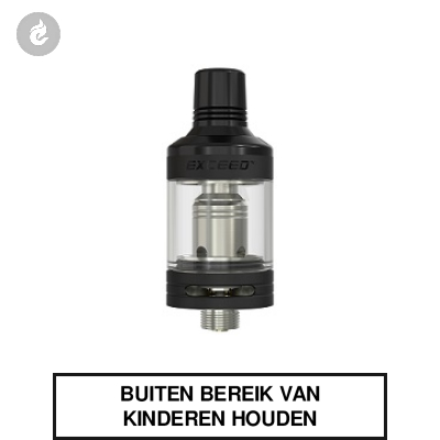 Joyetech Exceed D19 Clearomizer 2ML Zwart