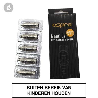Aspire Nautilus Mini BVC Coils 1.8ohm (doosje 5 stuks)