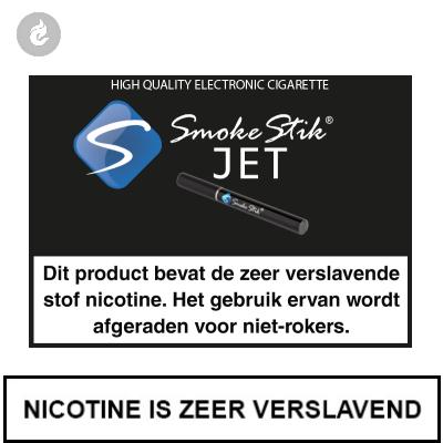 SmokeStik Jet Starterset Zwart (dubbel)