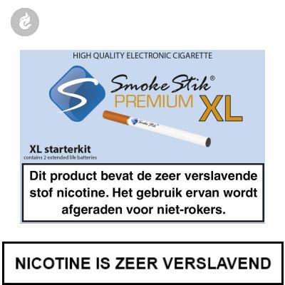 SmokeStik Premium XL Starterset Wit (dubbel)