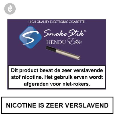 SmokeStik Hendu Starterset RVS (dubbel)