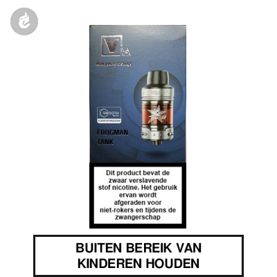 Vivakita Frogman Clearomizer 2ml Zwart