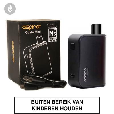 Aspire Gusto Mini Startset Zwart