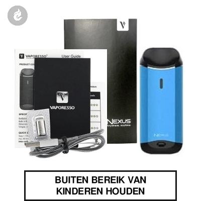 Vaporesso Nexus Starterskit Blauw
