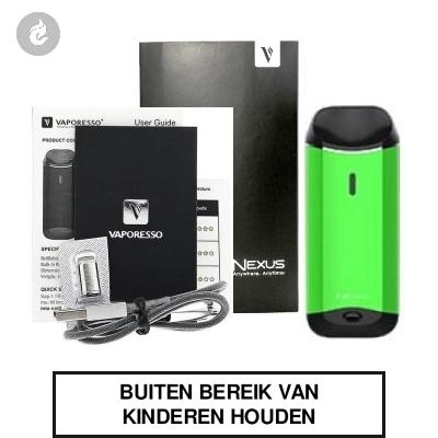 Vaporesso Nexus Starterskit Groen