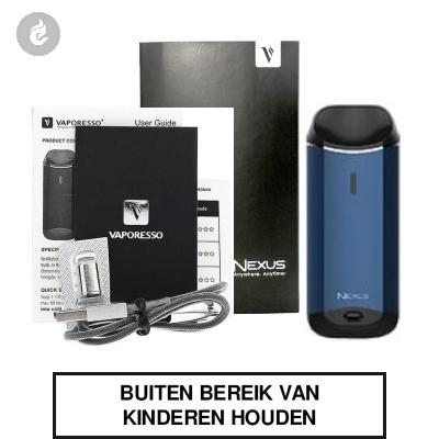 Vaporesso Nexus Starterskit Donkerblauw