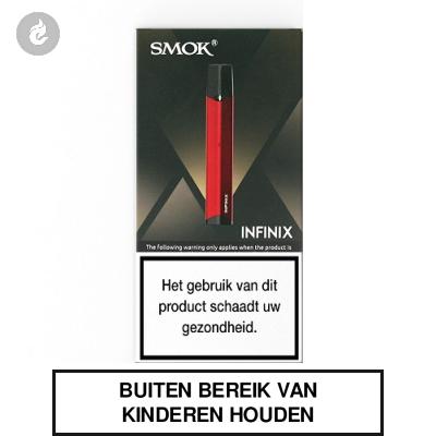 SMOK INFINIX Startset Rood