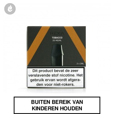 HEXA PODS Tobacco 20mg (2 stuks)