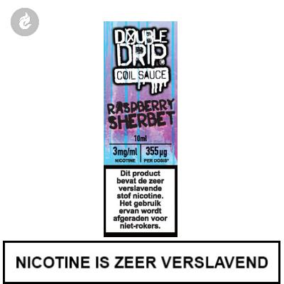 Double Drip Coil Sauce - Raspberry Sherbet 3mg nicotine