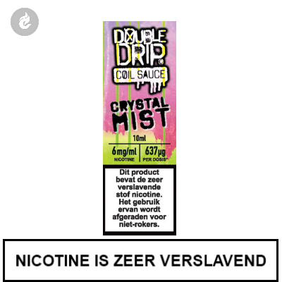Double Drip Coil Sauce - Crystal Mist 6mg nicotine