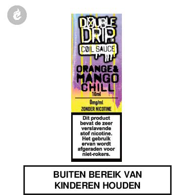 Double Drip Coil Sauce - Orange & Mango Chill nicotinevrij