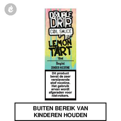 Double Drip Coil Sauce - Lemon Tart Nicotinevrij