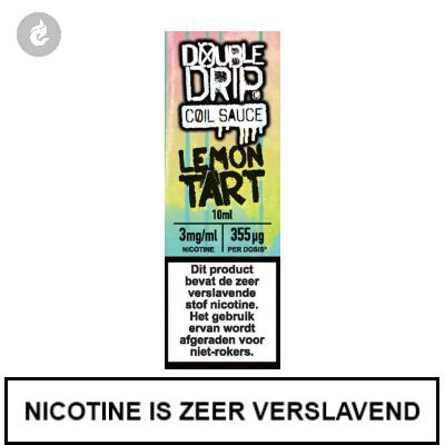 Double Drip Coil Sauce - Lemon Tart 3mg Nicotine