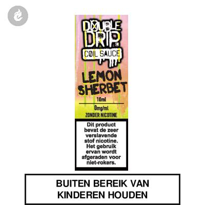 Double Drip Coil Sauce - Lemon Sherbet Nicotinevrij