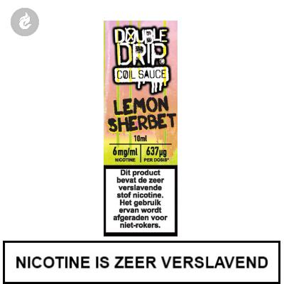 Double Drip Coil Sauce - Lemon Sherbet 6mg Nicotine