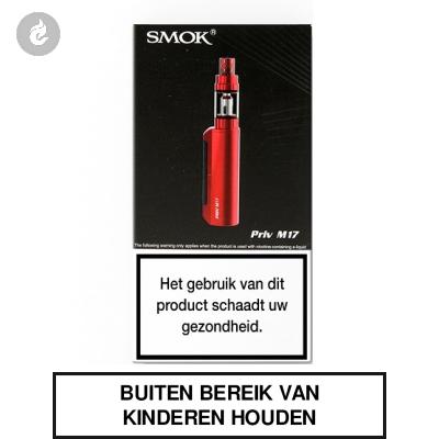SMOK Priv M17 Startset Rood