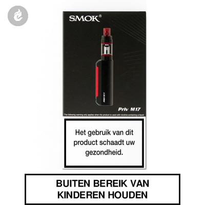 SMOK Priv M17 Startset Zwart