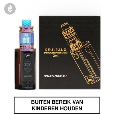 Wismec Reuleaux RX Gen3 Dual 230Watt Gloss Paars/Bruin
