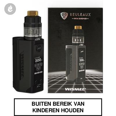 Wismec Reuleaux RX Gen3 300Watt Zwart