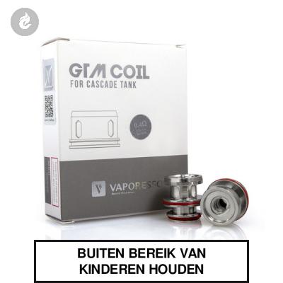 Vaporesso GTM2 Coils 0.4ohm (3 stuks)