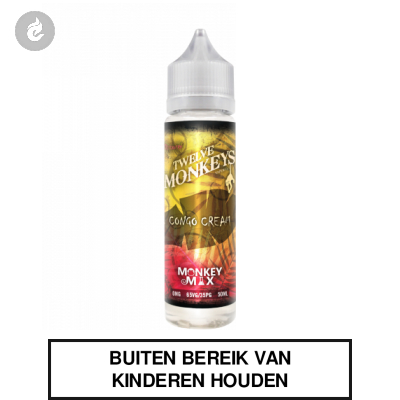 Twelve Monkeys Shake & Vape - Congo Cream