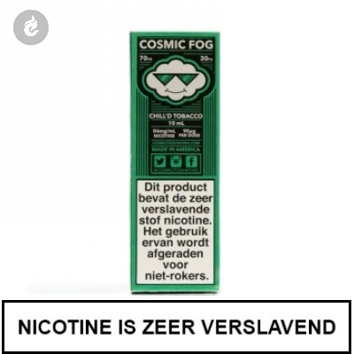Cosmic Fog - Chill'd Tobacco 12mg Nicotine