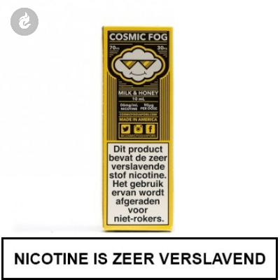 Cosmic Fog - Milk & Honey 3mg Nicotine