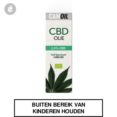 CanOil CBD Olie 2.5% (250MG) CBD Full Spectrum 10ml