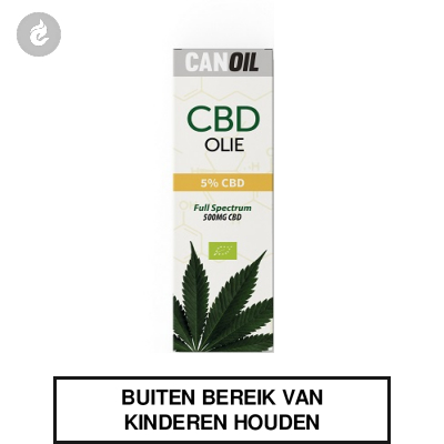 CanOil CBD Olie 5% (500MG) CBD Full Spectrum 10ml