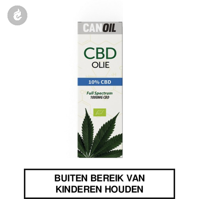 CanOil CBD Olie 10% (1000MG) CBD Full Spectrum 10ml