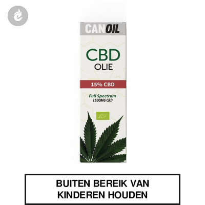 CanOil CBD Olie 15% (1500MG) CBD Full Spectrum 10ml