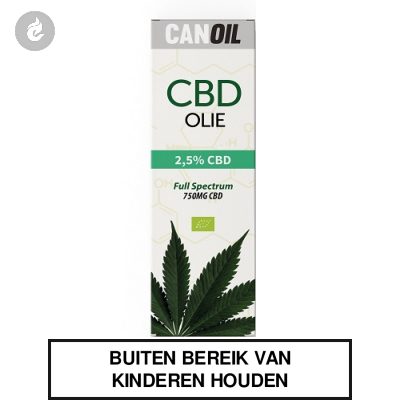 CanOil CBD Olie 2.5% (750MG) CBD Full Spectrum 30ml