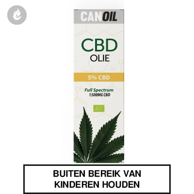 CanOil CBD Olie 5% (1500MG) CBD Full Spectrum 30ml