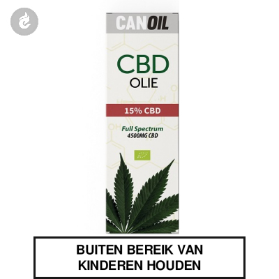 CanOil CBD Olie 15% (4500MG) CBD Full Spectrum 30ml
