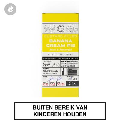 GLAS Basix Shake & Vape - Banana Cream Pie