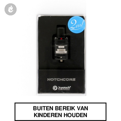 Joyetech NotchCore Clearomizer 2ml Zwart