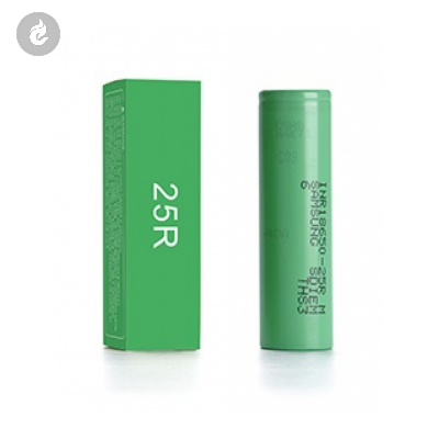 Samsung 25R 18650 Batterij 2500mAh 20A