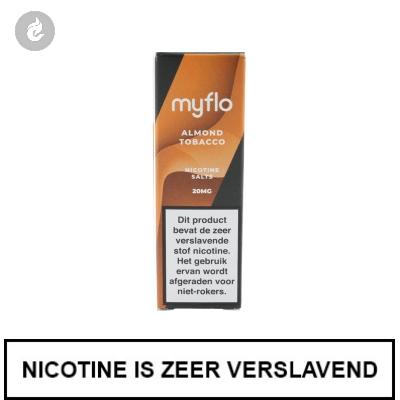 Myflo Nic Salts Almond Tobacco 20mg Nicotine 10ml