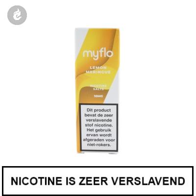 Myflo Nic Salts Lemon Meringue 10mg Nicotine 10ml