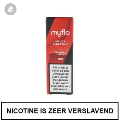 Myflo Nic Salts Melon Smoothie 20mg Nicotine 10ml