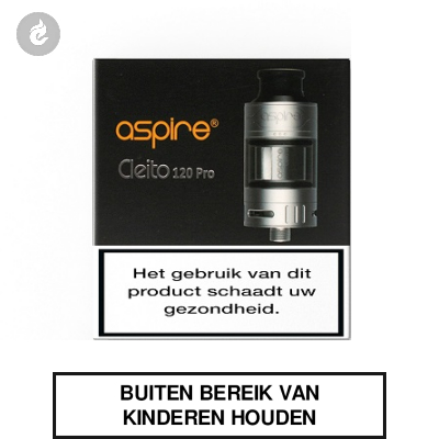 Aspire Cleito 120 Pro Clearomizer 2ml RVS