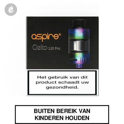 Aspire Cleito 120 Pro Clearomizer 2ml Rainbow