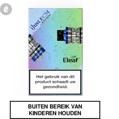 Eleaf iJust ECM Clearomizer 2ML Blauw