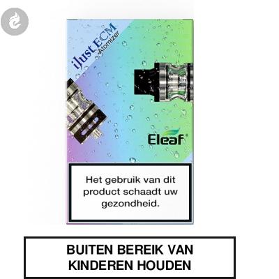 Eleaf iJust ECM Clearomizer 2ML Zwart