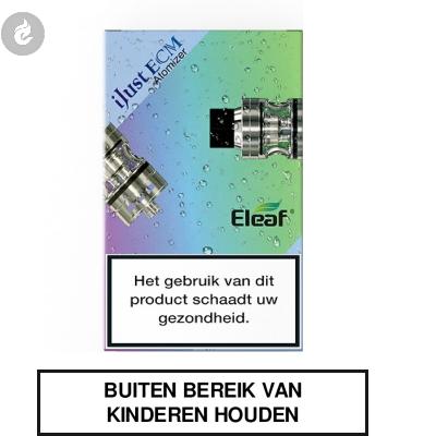 Eleaf iJust ECM Clearomizer 2ML Zilver