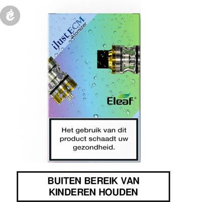 Eleaf iJust ECM Clearomizer 2ML Goud